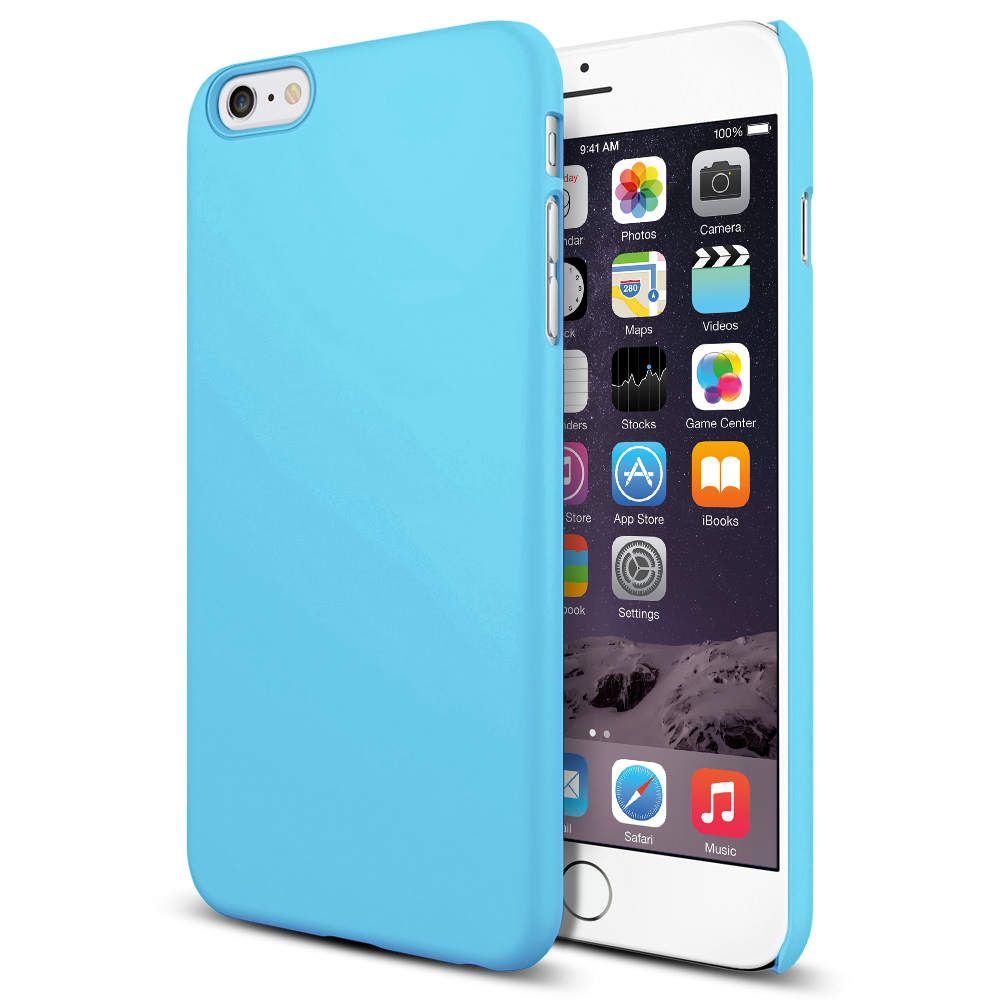 brand new f1a38 14efb PolySnap Hard Shell Case for Apple iPhone 6 Plus / 6s Plus - Sky Blue