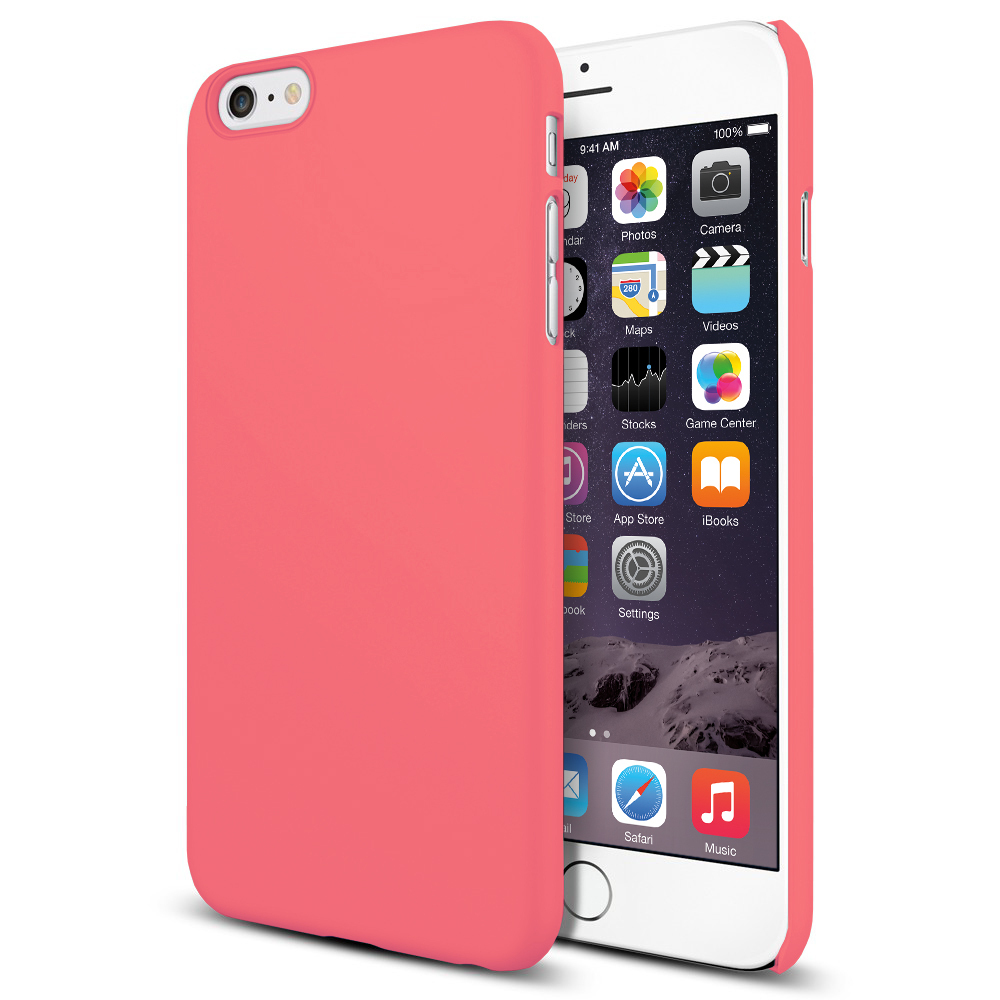 buy popular 9e0d4 37f84 PolySnap Hard Shell Case for Apple iPhone 6 Plus / 6s Plus - Pink