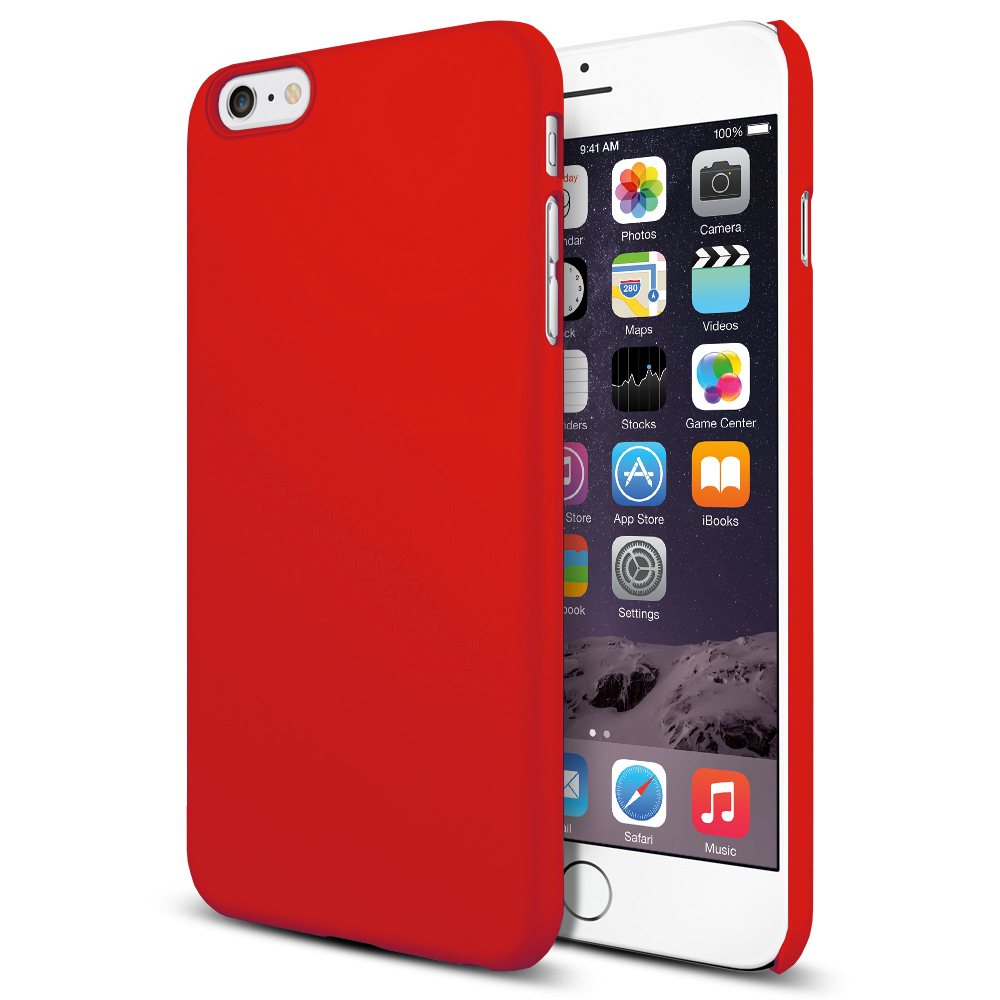 buy online 225f6 59a96 PolySnap Hard Shell Case for Apple iPhone 6 Plus / 6s Plus - Red