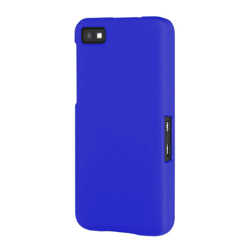 Hard Shell Candy Case for BlackBerry Z10 - Dark Blue (Matte)