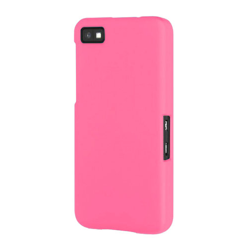 Hard Shell Candy Case for BlackBerry Z10 - Pink (Matte)
