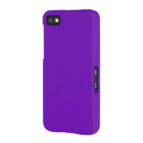 Hard Shell Candy Case for BlackBerry Z10 - Purple (Matte)