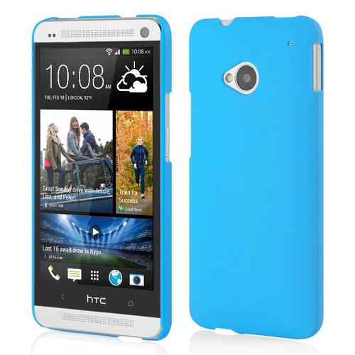 promo code 0c8af 7f371 PolyShield Hard Case for HTC One M7 - Light Blue (Matte)