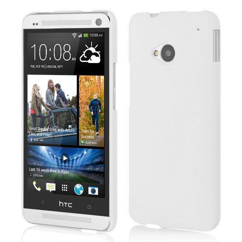 buy popular 171ad 5514c PolyShield Hard Case for HTC One M7 - White (Matte)