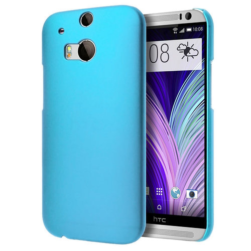 SnapShield Hard Shell Case for HTC One M8 - Sky Blue (Matte)