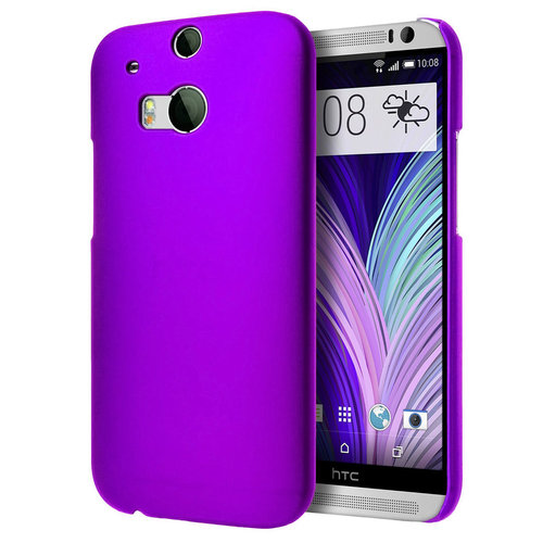 outlet store 5c313 16112 SnapShield Hard Shell Case for HTC One M8 - Purple (Matte)