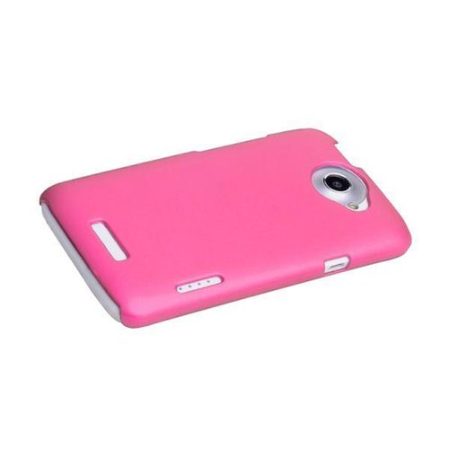 PolyShield Hard Case for HTC One X / One X+ - Pink (Matte)