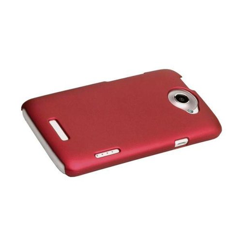 PolyShield Hard Case for HTC One X / One X+ - Red (Matte)