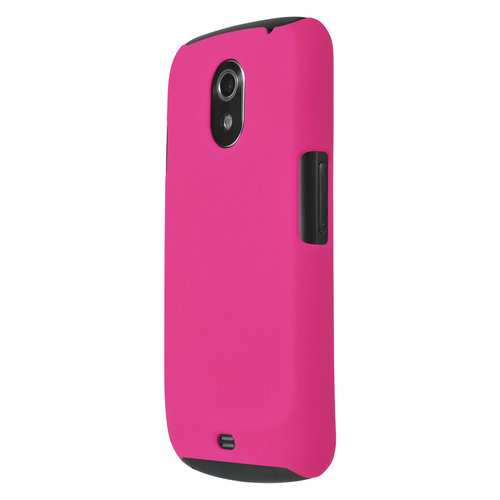 Feather Hard Shell Case for Samsung Galaxy Nexus I9250 - Hot Pink