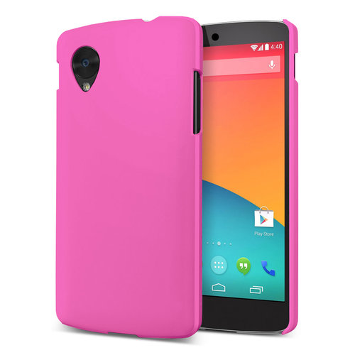 Feather Hard Shell Case for LG Google Nexus 5 - Pink (Matte)