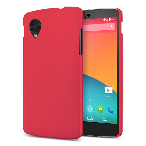 Feather Hard Shell Case for LG Google Nexus 5 - Red (Matte)