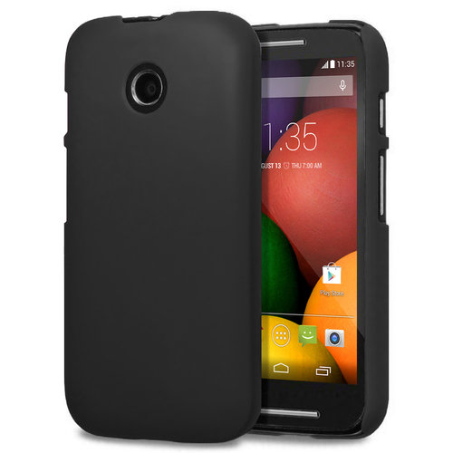 Feather Hard Shell Case for Motorola Moto E (1st Gen) - Black