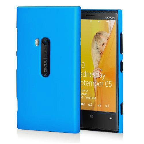 new style 221fa 44fb7 PolyShield Hard Shell Case for Nokia Lumia 920 - Light Blue (Matte)