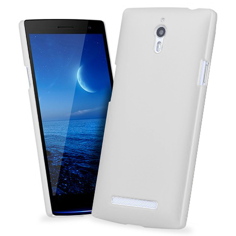 finest selection d6706 9c282 PolyShield Hard Shell Case for Oppo Find 7 / 7a - White