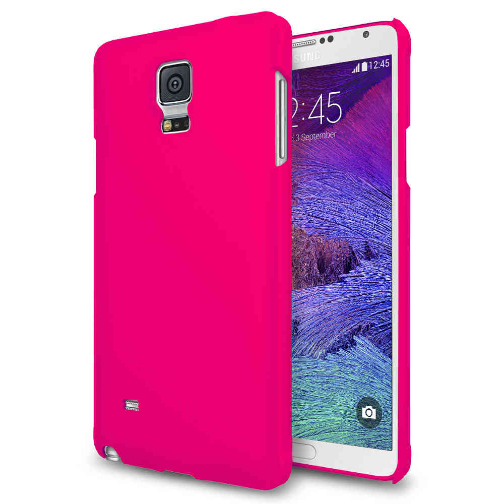the latest ec2af f0b39 PolyShield Hard Shell Case for Samsung Galaxy Note 4 - Hot Pink