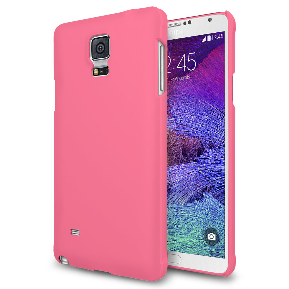 new arrivals 61a43 29e74 PolyShield Hard Shell Case for Samsung Galaxy Note 4 - Rose Pink