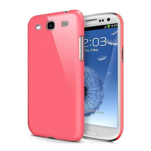 Feather Hard Shell Case for Samsung Galaxy S3 - Pink (Matte)