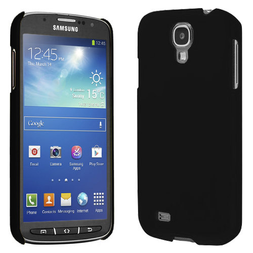Feather Hard Shell Case for Samsung Galaxy S4 Active - Black