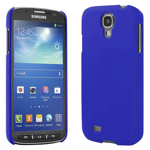 Feather Hard Shell Case for Samsung Galaxy S4 Active - Dark Blue