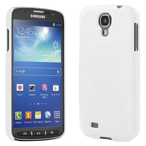Feather Hard Shell Case for Samsung Galaxy S4 Active - White