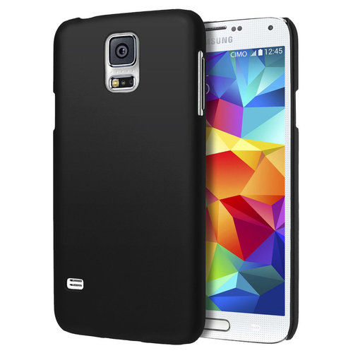 SnapGuard Hard Shell Case for Samsung Galaxy S5 - Black (Matte)