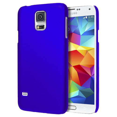 SnapGuard Hard Shell Case for Samsung Galaxy S5 - Dark Blue (Matte)