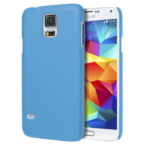 SnapGuard Hard Shell Case for Samsung Galaxy S5 - Light Blue (Matte)