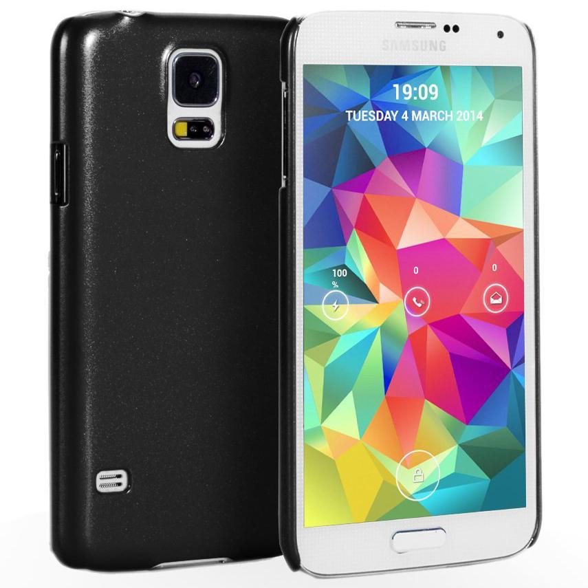 newest 6af87 968d7 Metallic Hard Case for Samsung Galaxy S5 (Black)