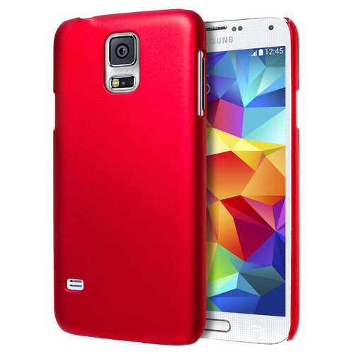 SnapGuard Hard Shell Case for Samsung Galaxy S5 - Red (Matte)