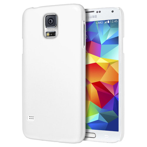 SnapGuard Hard Shell Case for Samsung Galaxy S5 - White (Matte)