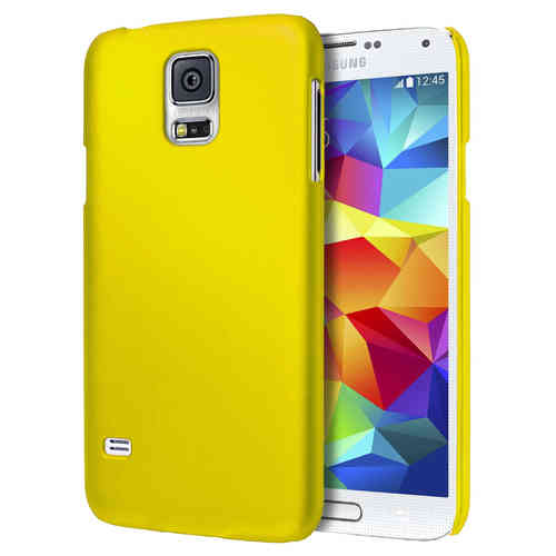 SnapGuard Hard Shell Case for Samsung Galaxy S5 - Yellow (Matte)