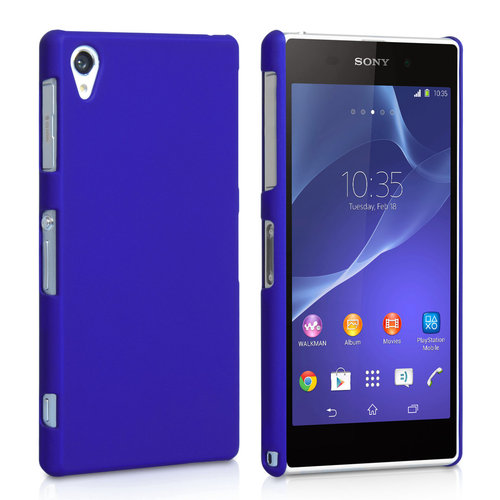 SnapShield Hard Shell Case for Sony Xperia Z2 - Dark Blue (Matte)