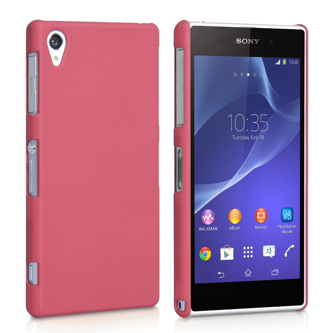 new product dbf6b 126ad SnapShield Hard Shell Case for Sony Xperia Z2 - Pink (Matte)