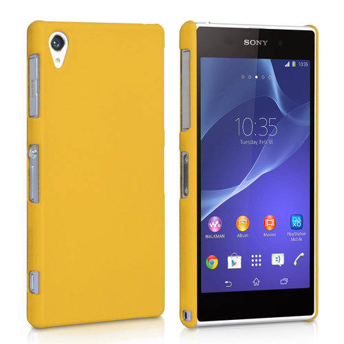 SnapShield Hard Shell Case for Sony Xperia Z2 - Yellow (Matte)