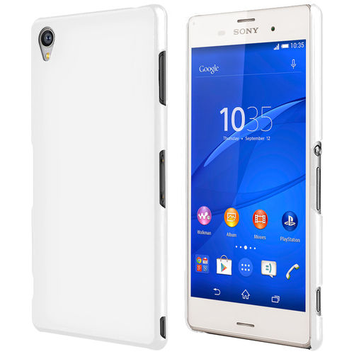 PolySnap Hard Shell Case for Sony Xperia Z3 - White (Matte)