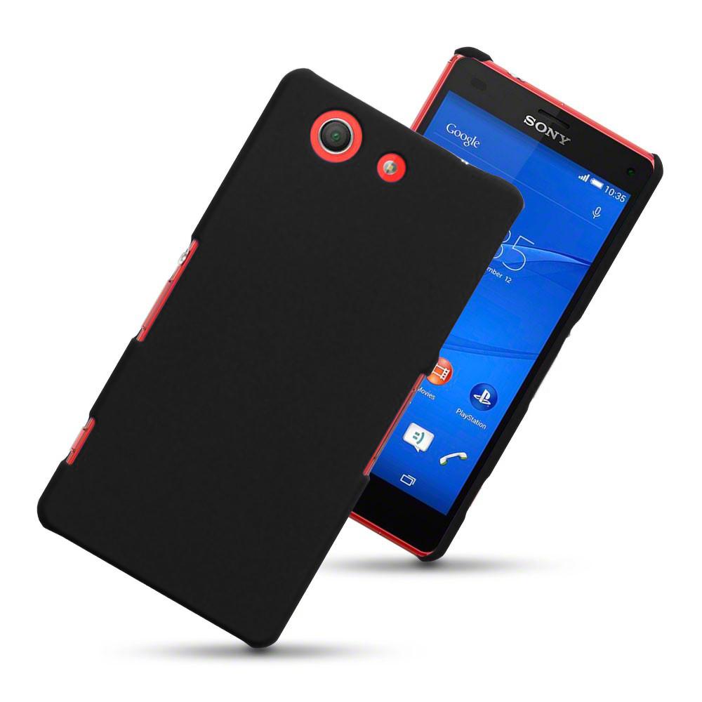 Hard Shell Case Sony Xperia Z3 Compact BlackXperia C Black In Hand