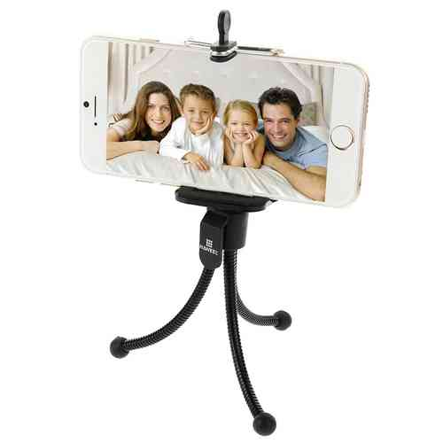 Haweel Flexible Octopus Tripod Mount & Mobile Phone Holder Stand