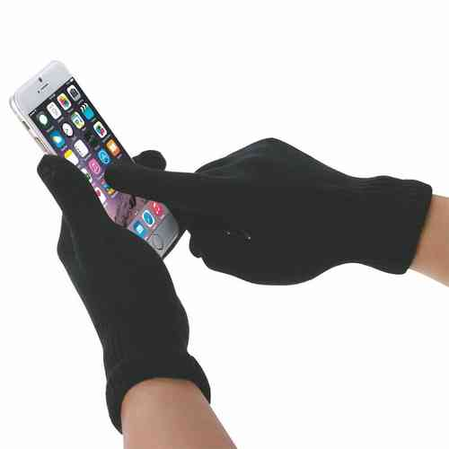 Haweel 3 Fingers Capacitive Touch Screen Gloves for Phones & Tablets