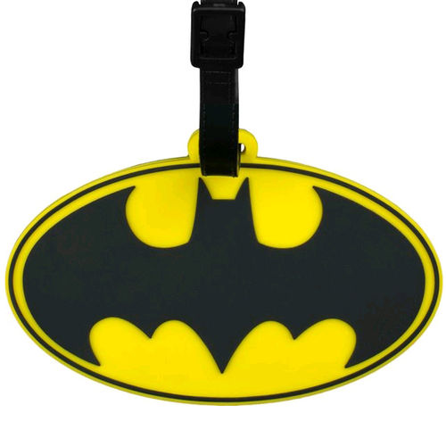 Ikon Collectables Batman Logo Travel Bag Luggage Tag