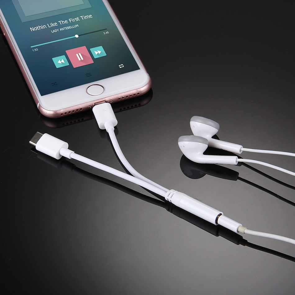 Apple earbuds extension cord - apple earbuds type c
