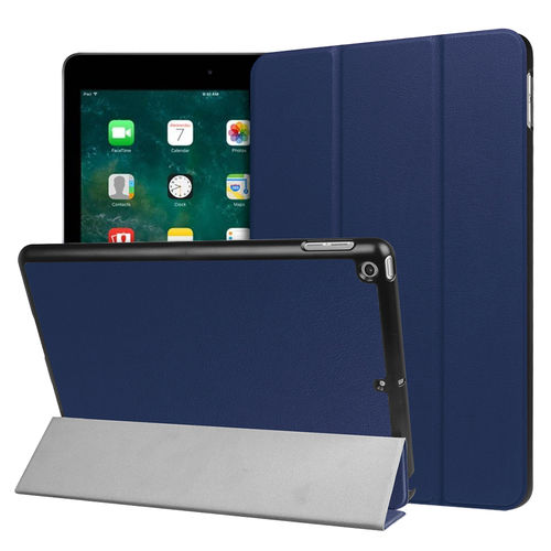 Trifold Smart Case Stand for Apple iPad 9.7 Inch (2018 / 2017) - Blue