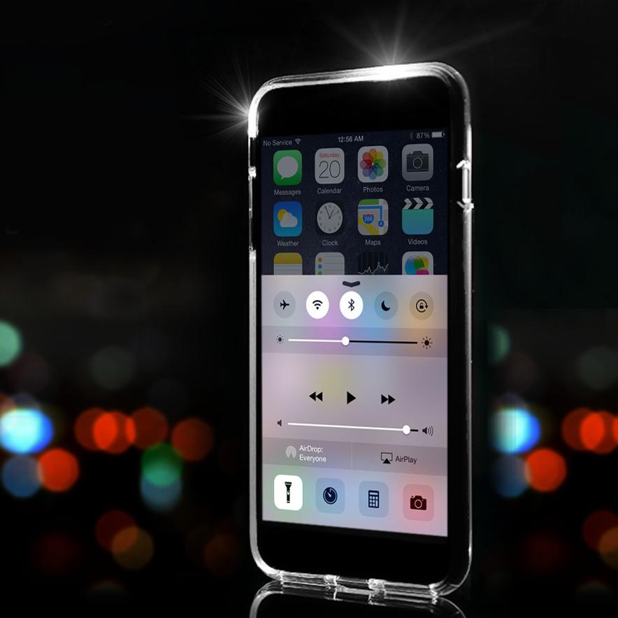 Rock Selfie Light Up Flash LED Case for Apple iPhone 8 / 7 Plus