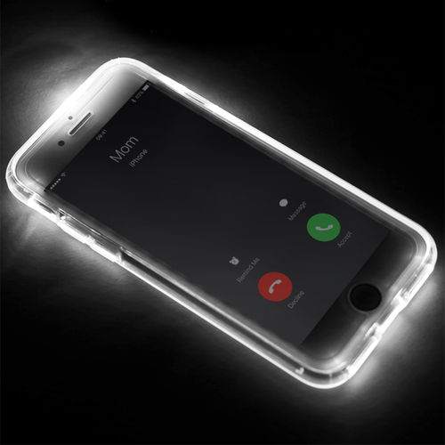 Rock Selfie Light Up Call Flash LED Case for Apple iPhone 8 / 7 Plus