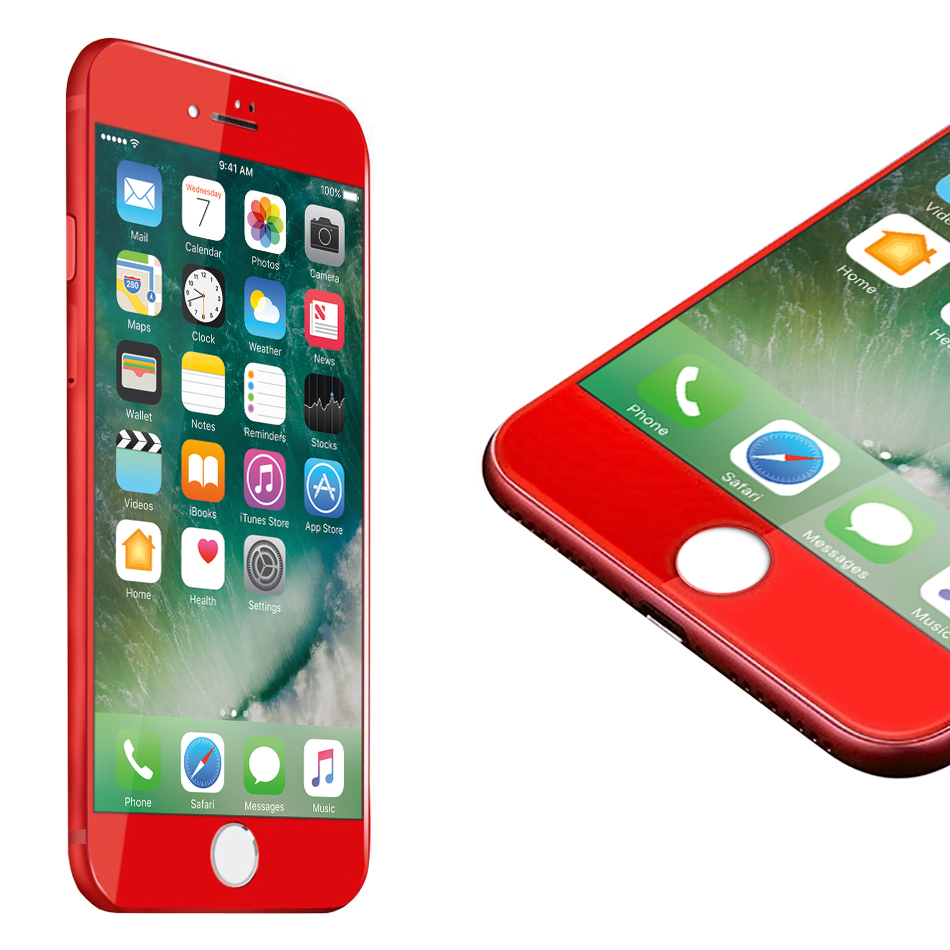 iphone red screen tempered glass screen protector apple iphone 7 plus 12182