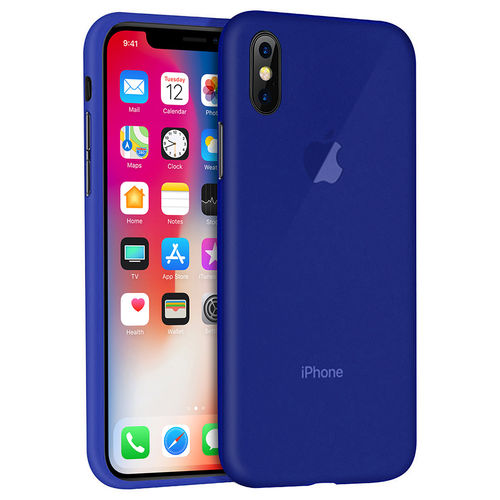 Flexi Gel Two-Tone Case for Apple iPhone X / Xs - Frost Blue