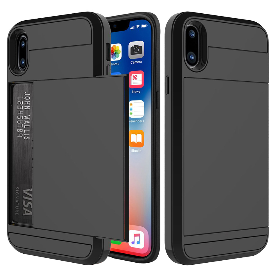 Iphone  Case With Credit Card Storage