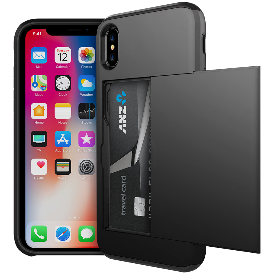 iphone xs case card