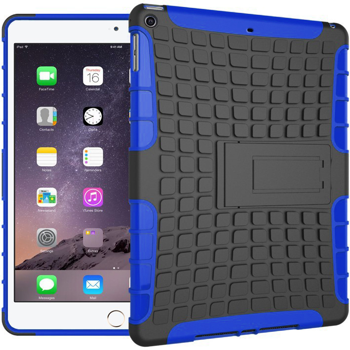 reputable site efd60 a3e06 Rugged Tough Shockproof Case - Apple iPad Air 1st Gen (Blue)
