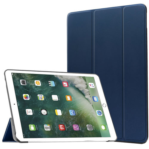 Trifold Sleep/Wake Smart Case for Apple iPad Pro (10.5 Inch) - Blue