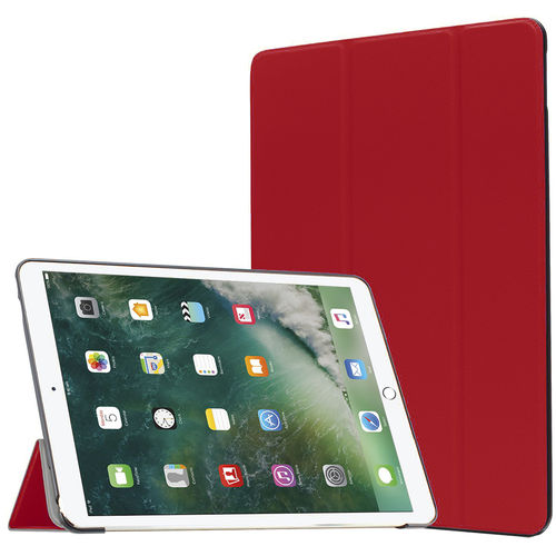 Trifold Sleep/Wake Smart Case for Apple iPad Pro (10.5 Inch) - Red